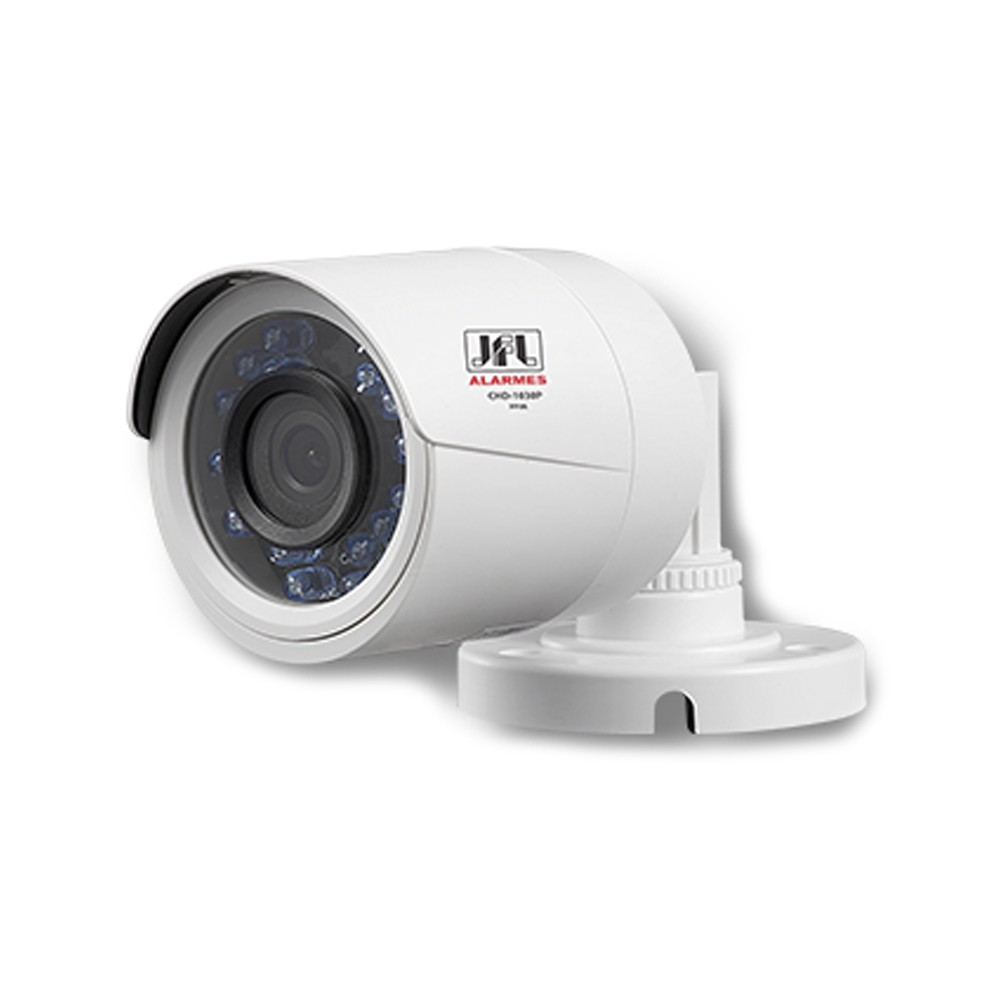 Câmera JFL CHD 2030P Bullet 1080p FULL HD-TVI Infra 30m  - Ziko Shop