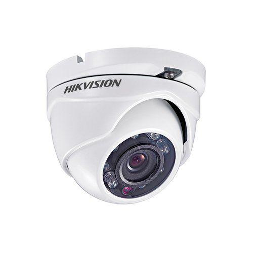 Câmera Dome HD Hikvision DS-2CE56C0T-IRMF 720p 20 Metros  - Ziko Shop