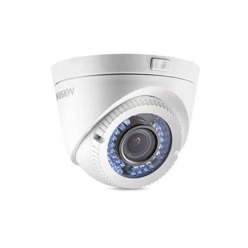 Câmera Dome Varifocal HD Hikvision DS-2CE56C2T-VFIR3 720p 40 Metros  - Ziko Shop