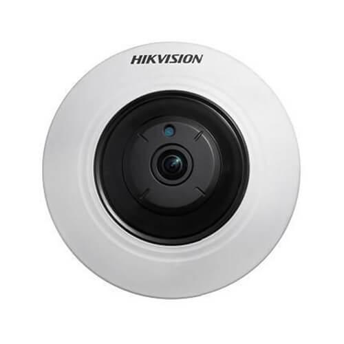 Câmera Fisheye Hikvision 360° 5 Megapixels DS-2CC52H1T-FITS, Microfone Embutido  - Ziko Shop
