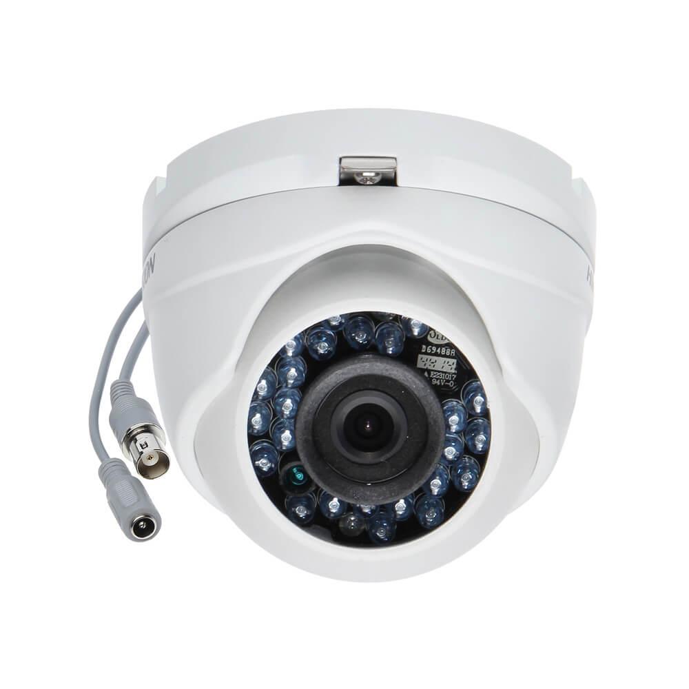 Câmera Hikvision Turbo HD 1.0 Megapixel Dome Infravermelho 20M lente de 2,8mm - DS-2CE56C2T-IRM  - Ziko Shop