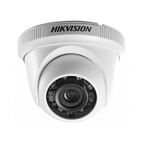 Câmera Hikvision Dome HD 720P 20 Metros DS-2CE56C0T-IRP  - Ziko Shop