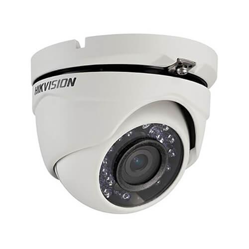 Câmera Hikvison Dome HD 720P 20 Metros 4em1 DS-2CE56C0T-IRMF  - Ziko Shop