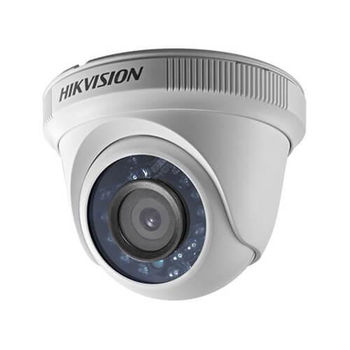 Câmera Hikvision Dome HD 720P 20 Metros 4em1 DS-2CE56C0T-IRPF  - Ziko Shop