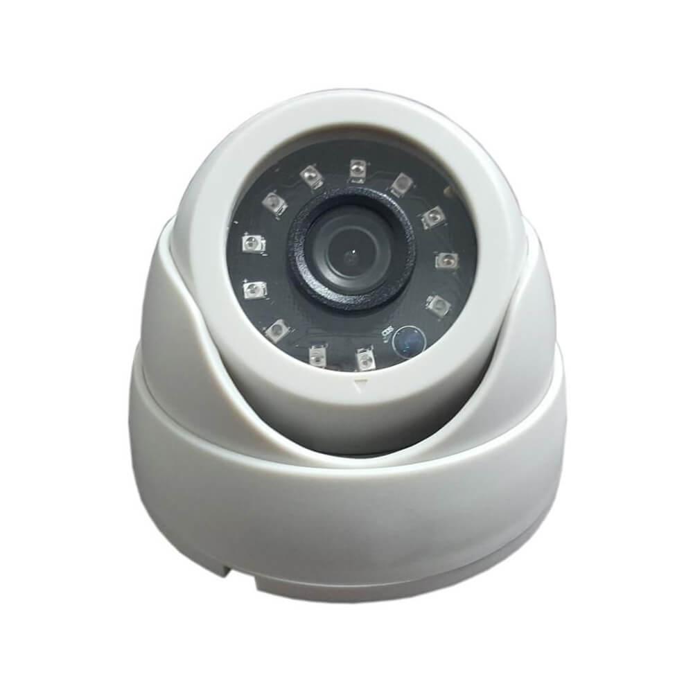 Câmera Infravermelho Dome AHD 720p Lente 3.6mm 25 Metros (Nano LED)  - Ziko Shop