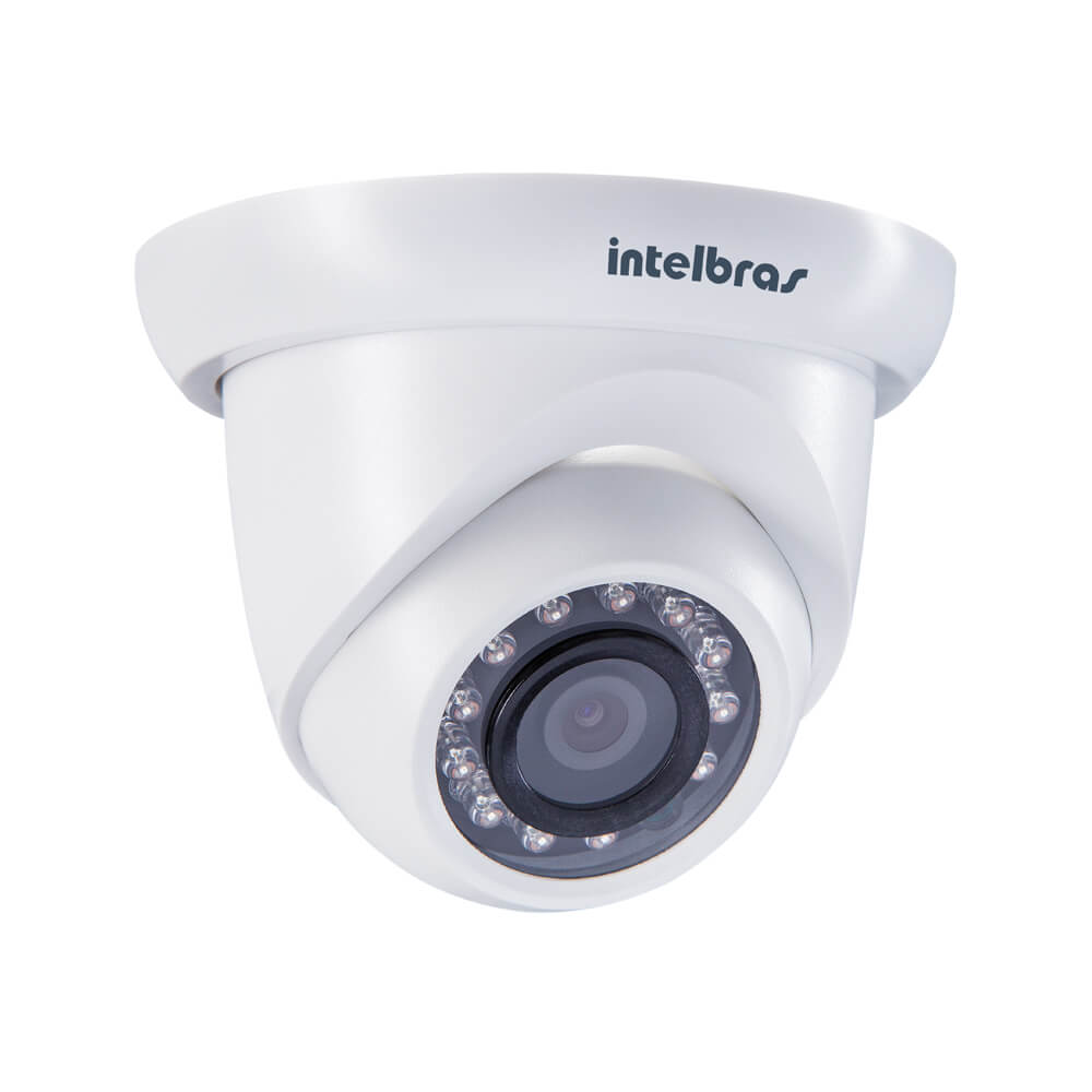 Câmera IP Intelbras VIP S4020 G2 Dome, 1 Megapixel, 2.8mm, OnVif  - Ziko Shop