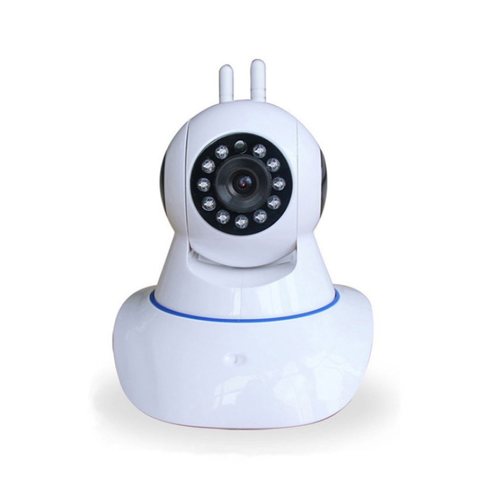 Camera IP Wireless 2 Antenas HD 720p P2P Onvif - Branca  - Ziko Shop