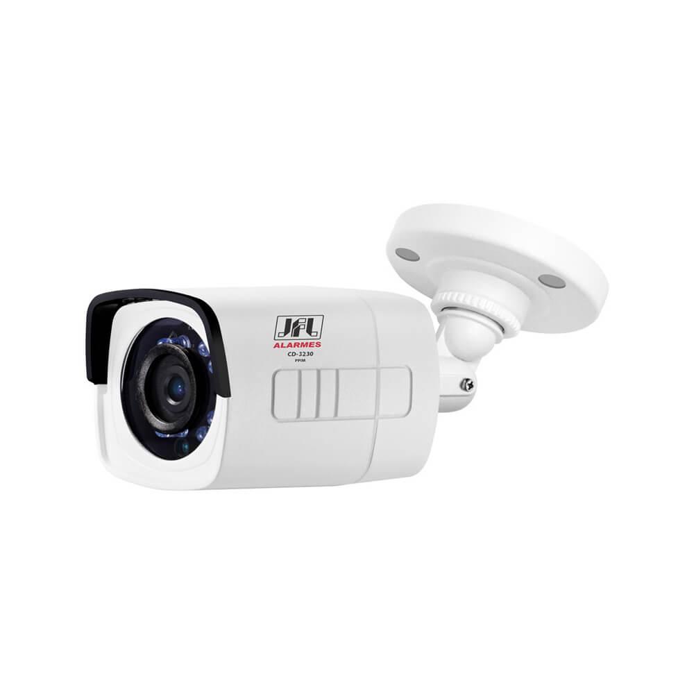 Câmera JFL CD 3230 Resolução HD 720p (1 Megapixel) HD-TVI infravermelho até 30 metros lente 3.6mm  - Ziko Shop