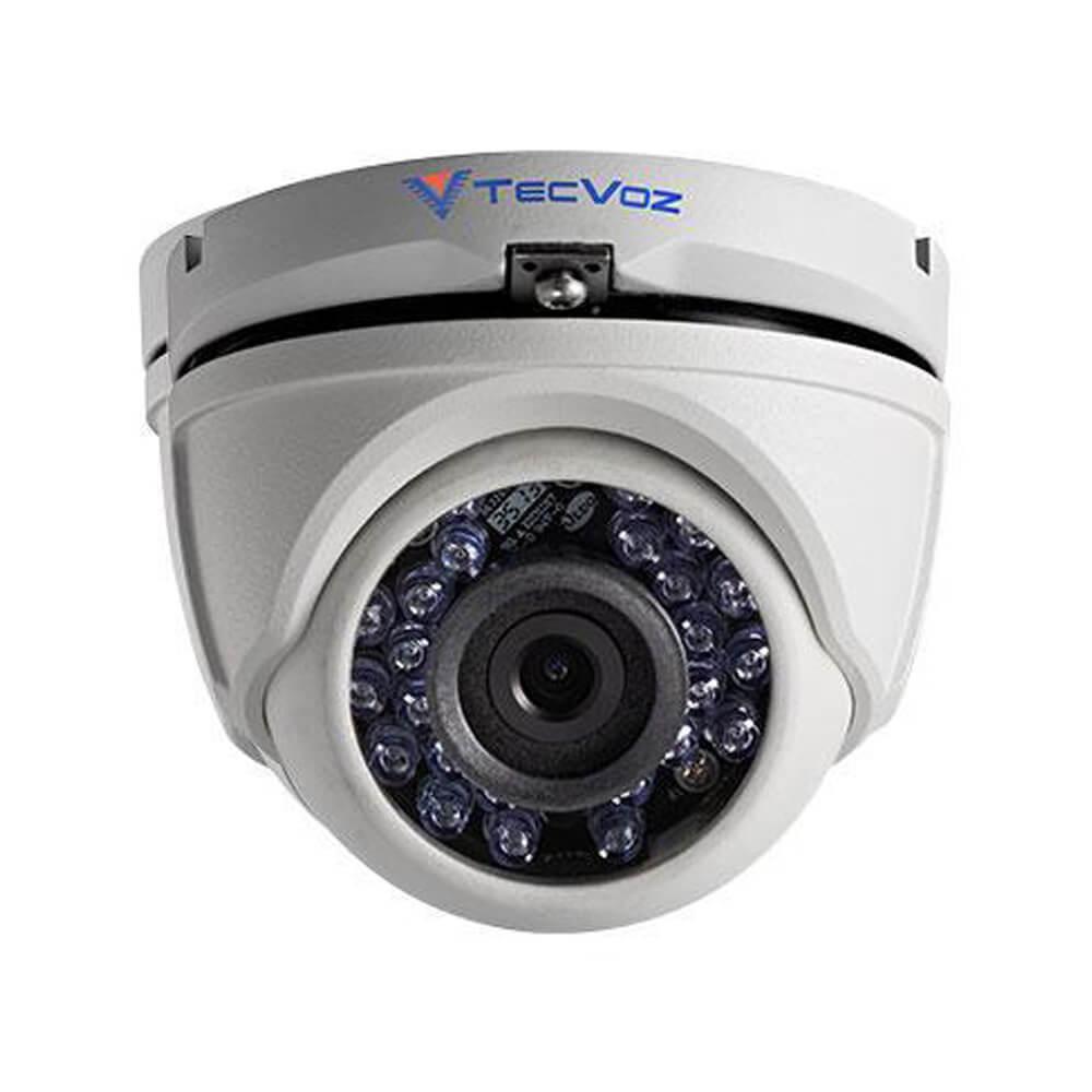 Câmera T1-5TV1/D Tecvoz HD-TVI 720p Ir 20m Dome 1mp 2.8mm  - Ziko Shop