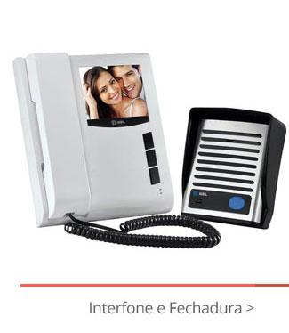 Interfone e Fechadura