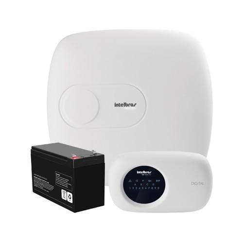 Central de Alarme Intelbras AMT 2018 EG + Bateria (18 zonas, Ethernet e GPRS)  - Ziko Shop