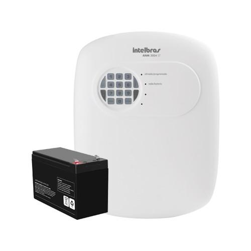 Central de Alarme Intelbras ANM 3004 ST + Bateria (4 Zonas Mistas Com Discadora)  - Ziko Shop