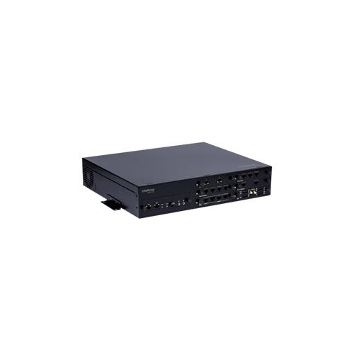 Central Telefônica Híbrida Intelbras Unniti 2000  - Ziko Shop