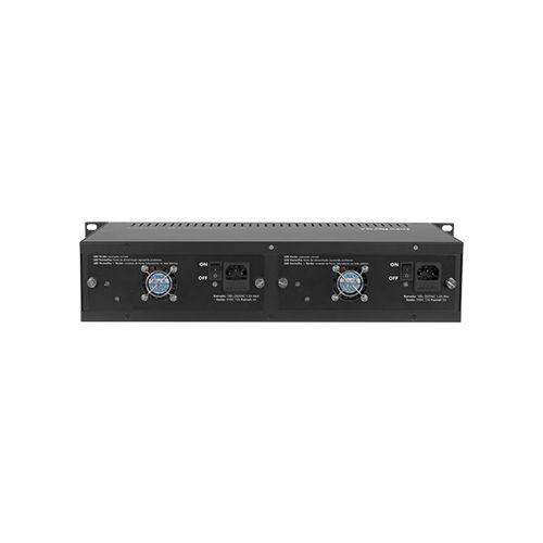 """Chassi para Conversor de Mídia Intelbras KX 1400 R com 14 Portas para Rack 19""""  - Ziko Shop"""