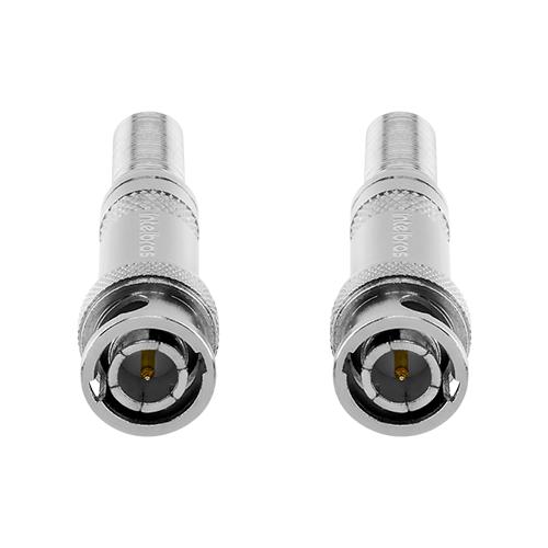 Conector BNC Mola Intelbras Conex 1000 para CFTV (10 unidades)  - Ziko Shop