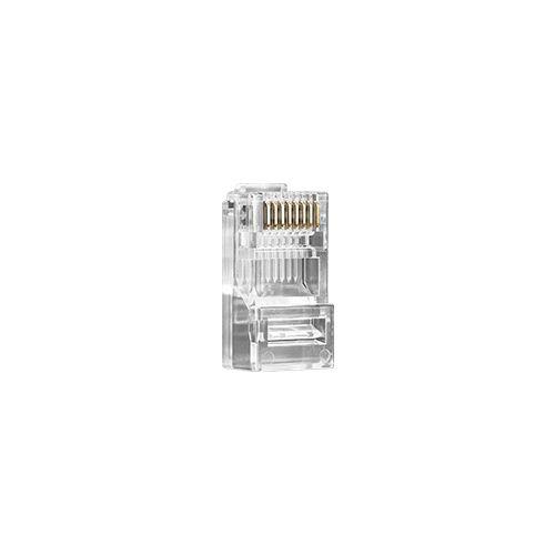 Conector Macho Intelbras Conex 1000 RJ45 Cat5E para Cabo de Rede UTP (50 peças)  - Ziko Shop