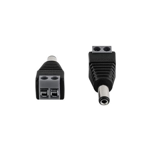 Conector P4 Macho Intelbras Conex 1000 para CFTV (10 unidades)  - Ziko Shop