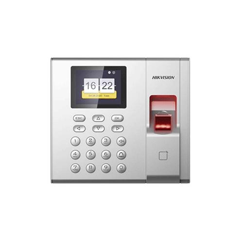 Controlador de Acesso Hikvision DS-K1T8003MF Biometria + Proximidade 13,56Mhz + Senha  - Ziko Shop