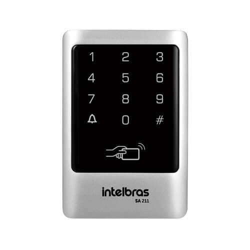 Controlador de Acesso Intelbras SA 211 125 kHz  - Ziko Shop