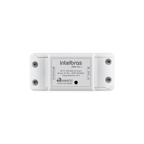 Controlador Wi-Fi Inteligente Sem Fio Para Ambientes EWS 201 E Intelbras  - Ziko Shop