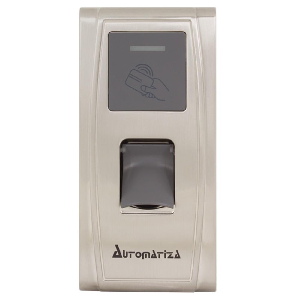 Controle de Acesso Biométrico e Cartão de Proximidade (RFID) Bio Inox Plus SS311E - Automatiza  - Ziko Shop