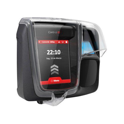 Controle de Acesso Control ID iDFlex PRO IP65 RFID 13,56 mHz + Biometria TCP/IP  - Ziko Shop