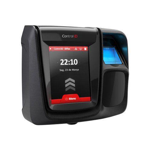 Controle de Acesso Control ID iDFlex PRO RFID 125 kHz + Biometria + TCP/IP  - Ziko Shop