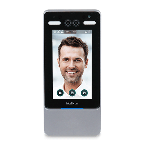 Controle De Acesso Facial Intelbras SS 5520  - Ziko Shop