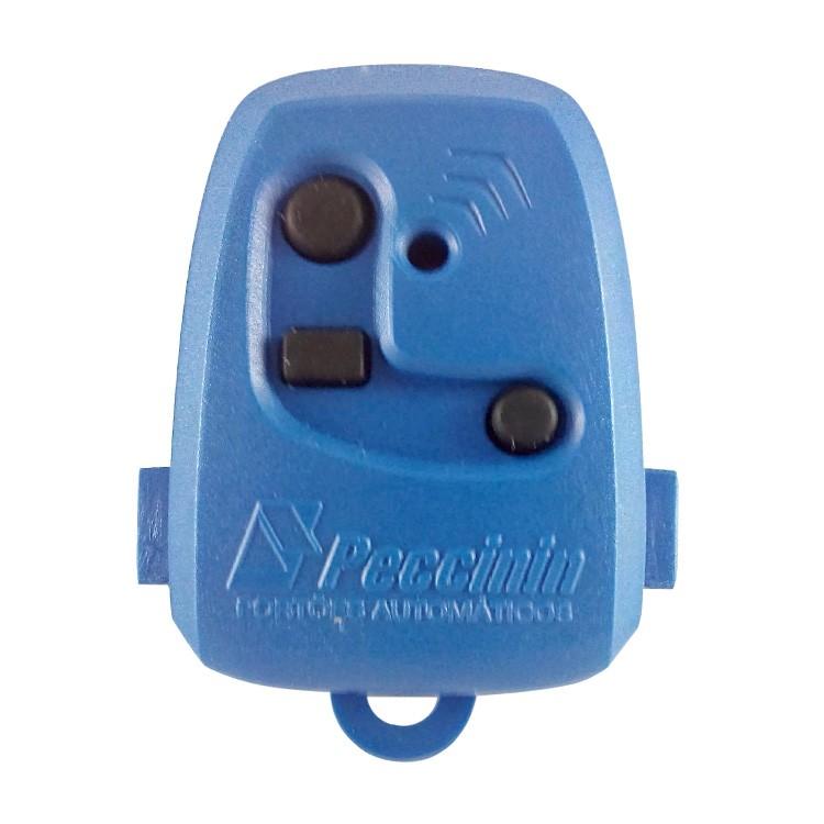 Controle Remoto Digital TX 3C Peccinin 433.92Mhz Azul  - Ziko Shop