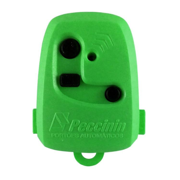Controle Remoto Digital TX 3C Peccinin 433.92Mhz Verde  - Ziko Shop