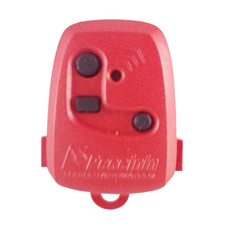 Controle Remoto Digital TX 3C Peccinin 433.92Mhz Vermelho  - Ziko Shop