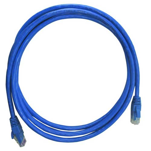 Patch Cord CAT6 UTP CM 2,5 metros azul - Nexans - Ziko Shop