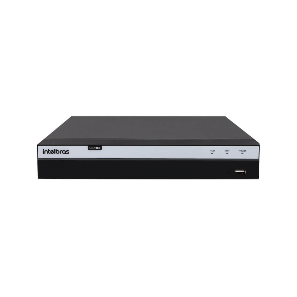 KIT DVR Intelbras Full HD 1080p + 4 Câmeras VHD 1220B Full + Acessório  - Ziko Shop