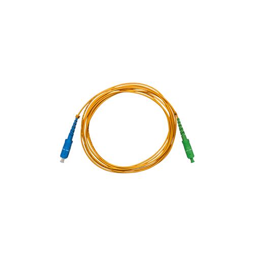 Cordão Óptico Intelbras SC/UPC - SC/APC - 2,0mm 3M - XFC 12  - Ziko Shop