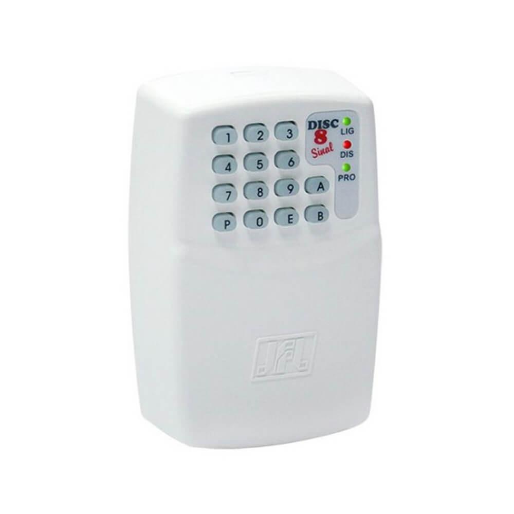Discadora JFL Disc 8 Sinal, Até 8 Números Telefônicos, Compatível Com Todas Centrais de Alarme  - Ziko Shop