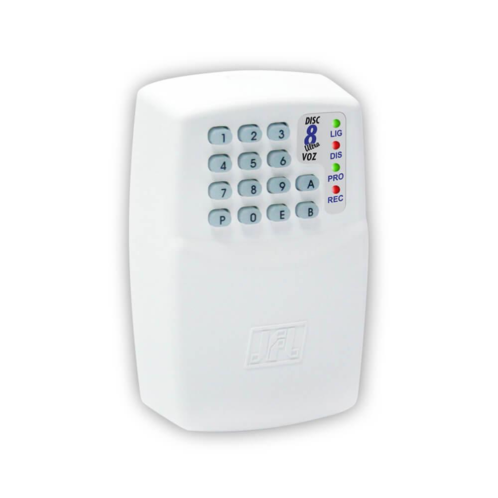 Discadora JFL Disc 8 Voz Alarme e Cerca Elétrica, Até 8 Números Telefônicos  - Ziko Shop