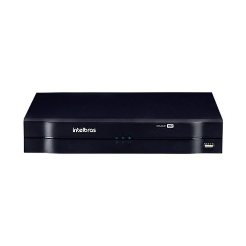 DVR Intelbras HD 4 Canais MHDX 1104 Multi HD 1080p Lite  - Ziko Shop