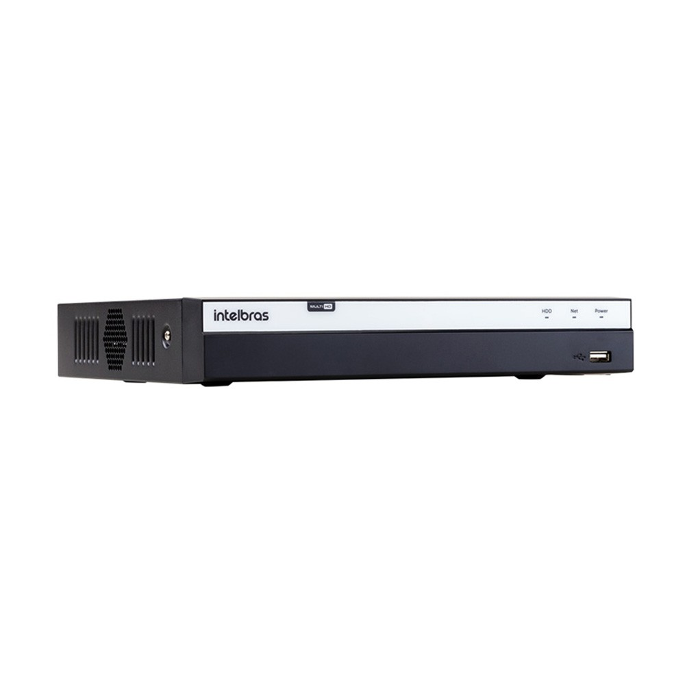 DVR Intelbras Full HD - MHDX 3108, Multi HD, 4MP Lite, 8 canais  - Ziko Shop