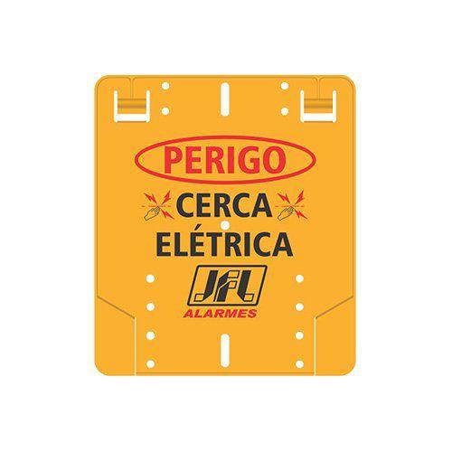 KIT Cerca ECR 18 JFL + 5 Hastes com 4 Isoladores para 10m  - Ziko Shop