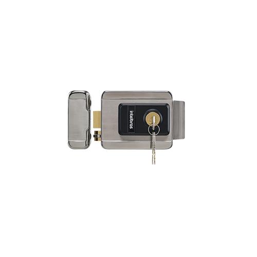 Fechadura Elétrica Intelbras de Cilindro Fixo FX 2000 INOX  - Ziko Shop