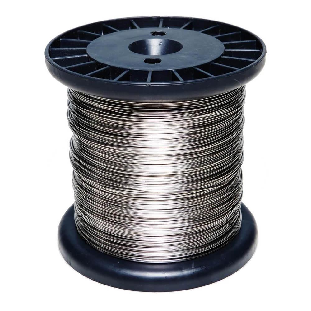 Fio de Aço Inox 0,60 mm Para Cerca Elétrica 900g  - Ziko Shop