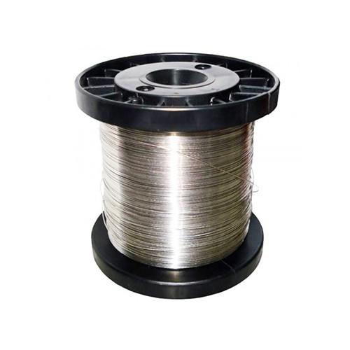 Fio de Aço Inox 0,9 mm Para Cerca Elétrica Rolo 1Kg  - Ziko Shop