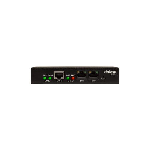 Gateway de voz Intelbras 1 Porta GW 201 E  - Ziko Shop