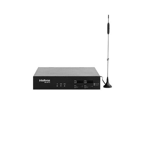 Gateway de voz Intelbras GW 208 3G 4 Portas  - Ziko Shop