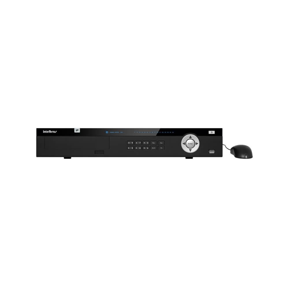 NVR Intelbras NVD 5016 4K, 16 canais IP, Full HD, resolução 4k  - Ziko Shop