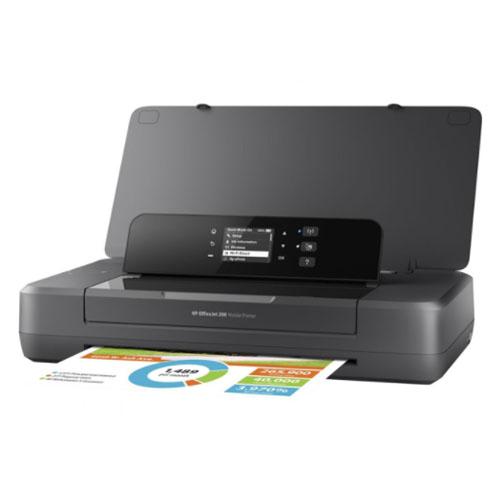 Impressora HP, OfficeJet Mobile 200-DU- CZ993A#AC4  - Ziko Shop