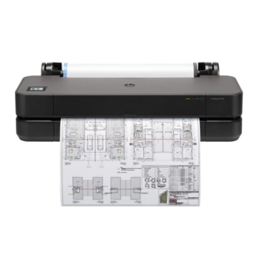 "Impressora Plotter HP DesignJet T250 24"" - 5HB06A#B1K  - Ziko Shop"