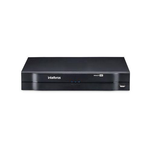 KIT 1 Câmera Dome AHD + DVR Intelbras 4 Canais HD + Acessórios  - Ziko Shop