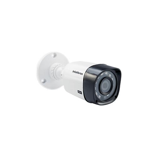 KIT 1 Câmera Intelbras VHD 1120 B G4 + DVR Intelbras 4 Canais HD + Acessórios  - Ziko Shop