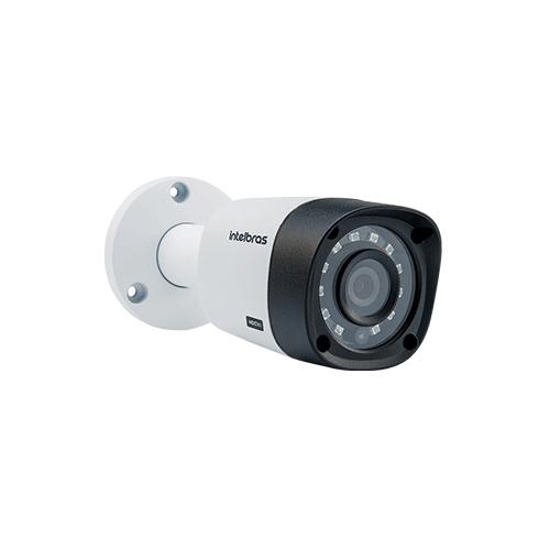 KIT 2 Câmeras Intelbras VHD 3130 B G4 + DVR Intelbras 4 Canais HD + Acessórios  - Ziko Shop